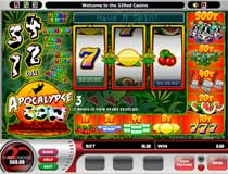 The Psychedelic Jungle Trail feature is activated when three symbols with a T-bone appear anywhere on the visible reels, this does not have to be a winning pay either!   You will enjoy this fruit machine with it's many bonus features.