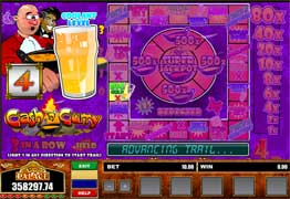 Cash 'n' Curry has the Cash 'n' Curry bonus game and multiple Nudge and Hold features.