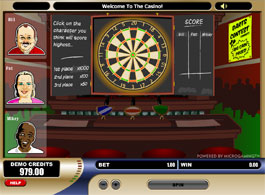 Pub Fruity is a three reel, one payline, and one coin slot machine. Pub Fruity has two Bonus Features, the Drinks Trail bonus game and the Dart Contest bonus game.